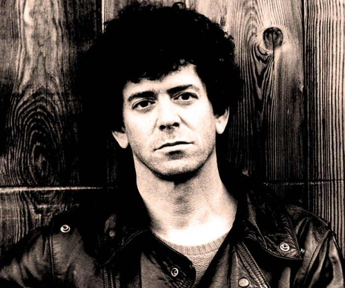 Lou Reed - in the midst of a metamorphosis.