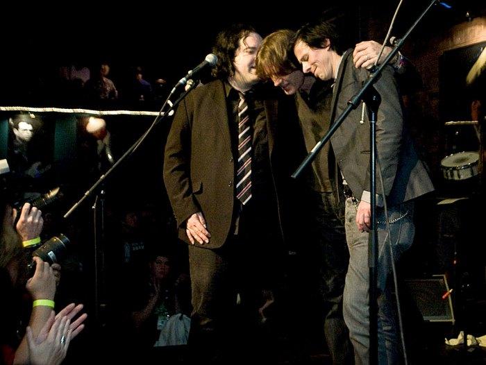 Big Star Music - Jody Stephens, Ken Stringfellow and Jon Auer - keeping the faith.