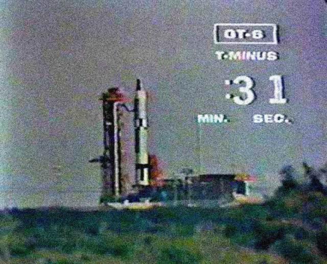 Gemini 6 launch - Dec. 12, 1965