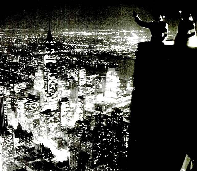 Air Raid Wardens - high over New York City - December 8, 1941