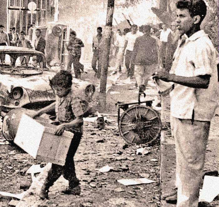January 21, 1958 - rioting in Caracas