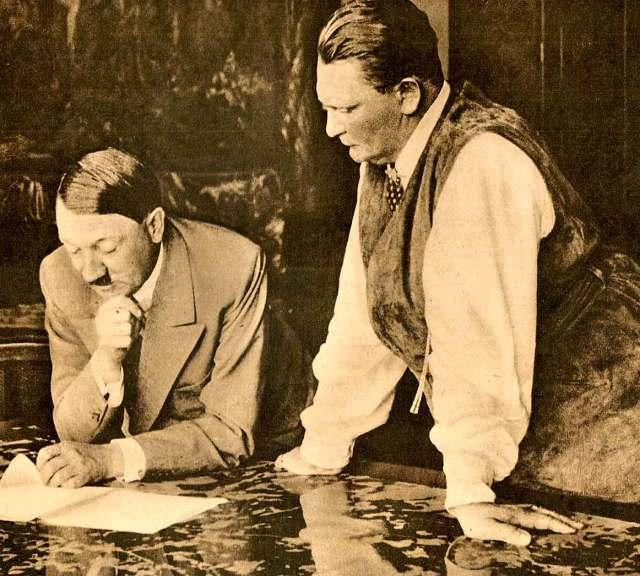 Hitler and Göring - 1938