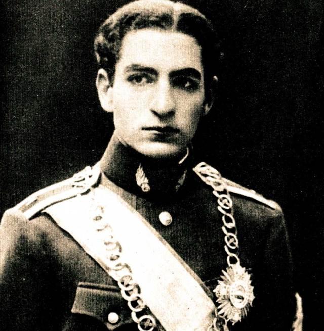 21-year old Mohammad Reza Pahlavi