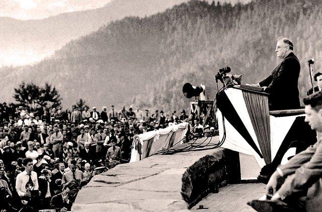 FDR - Smoky Mountain National Park - Sept. 2, 1940