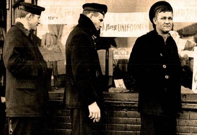 U.S. Sailors on leave - October 1941
