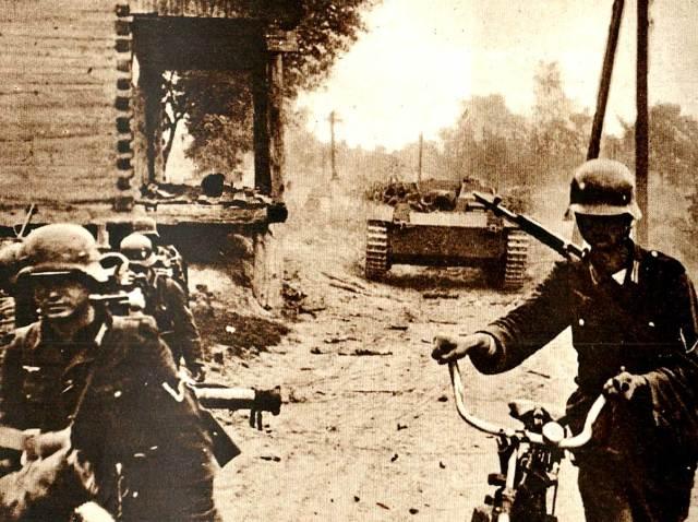 German Troops - October 1941