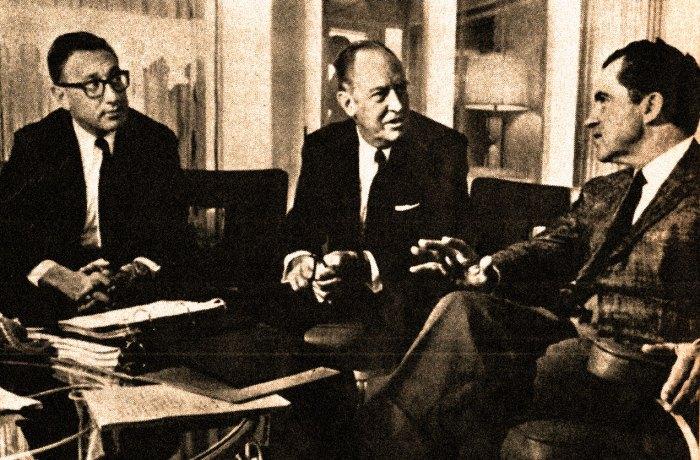Kissinger, Rogers and Nixon