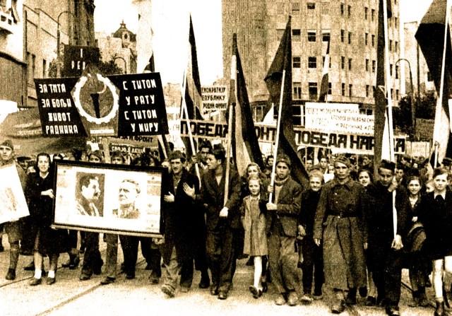 Pro-Communist Demonstrations in Europe