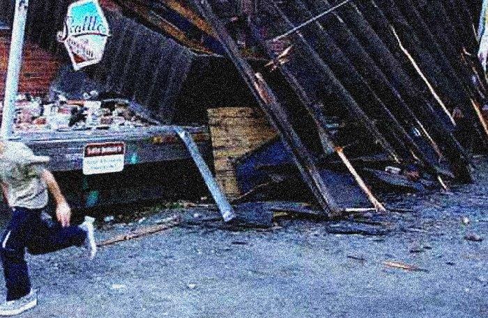 Seattle Earthquake damage