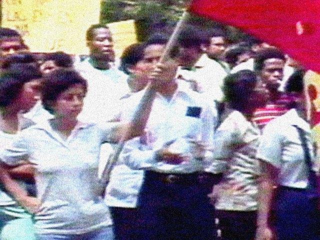 Panama Canal demonstrations 1978