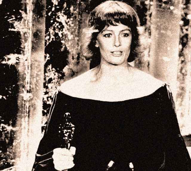 Vanessa Redgrave at the 1978 Oscars