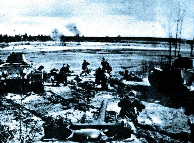 Russian offensive at Kharkov