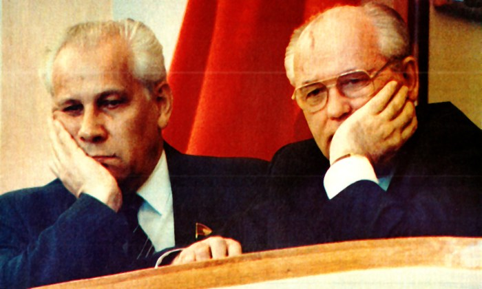 Gorbachev - Lukyanov May Day 1990