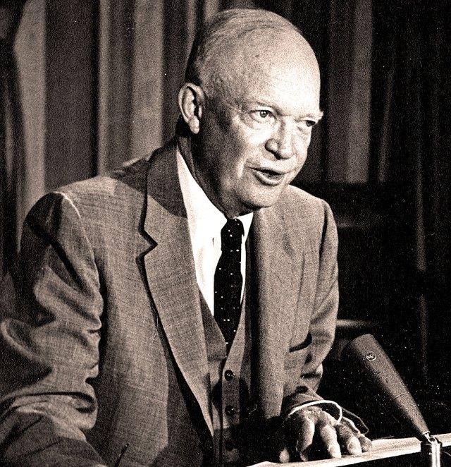 President Eisenhower - 1957 Governors Conference