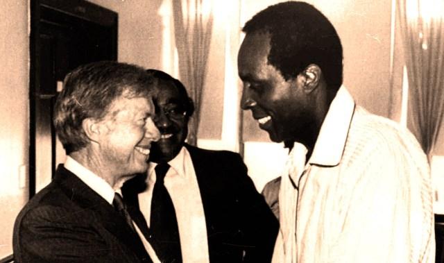 Jimmy Carter - Vernon Jordan - 1980