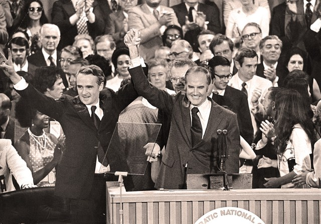 George McGovern - Thomas Eagleton - 1972 Convention