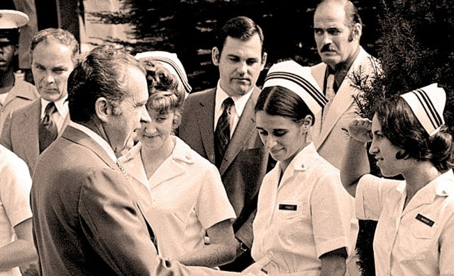 Nixon - Pneumonia 1974