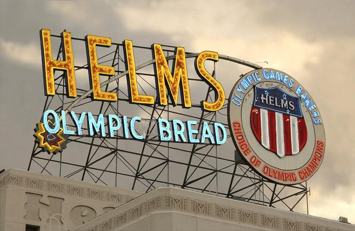 Helms Neon Sign