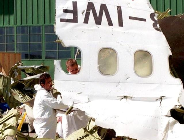 Swissair Flight 111 wreckage