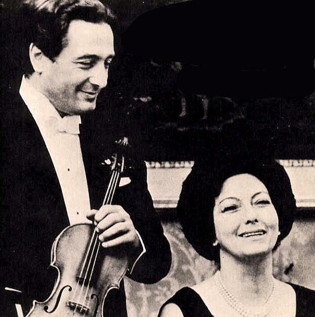 Franco Gulli and Enrica Cavallo