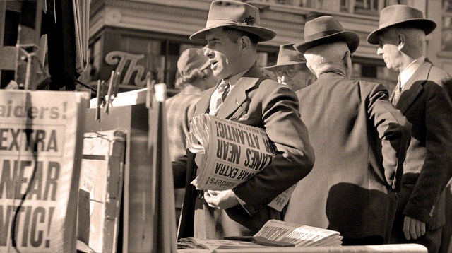 Newstand - Dec. 7, 1941
