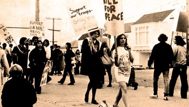 Protesting the Vietnam War in 1970
