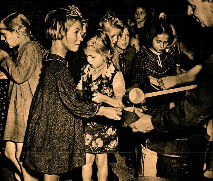Children in Europe - 1946