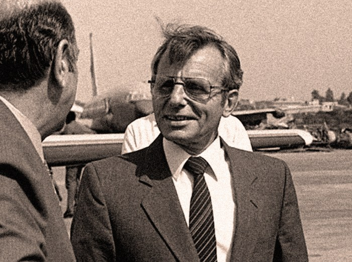 Defense Secretary Frank Carlucci