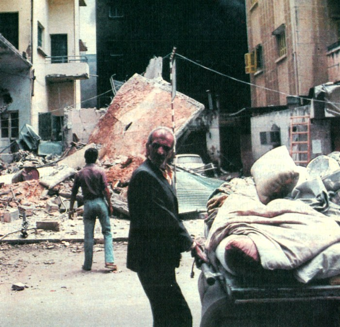 West Beirut violence - July 31, 1982