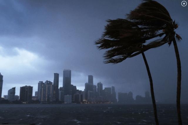 Hurricane Florence 1988