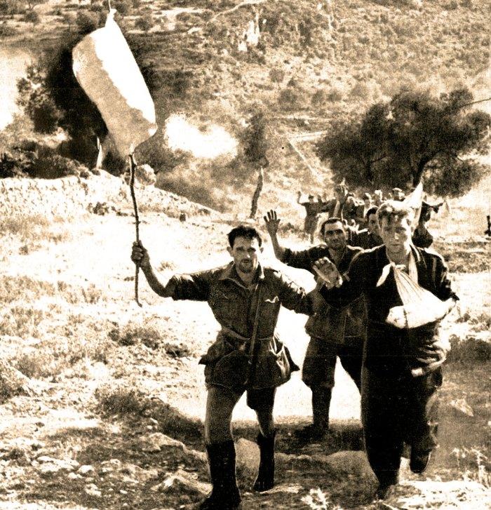 German Troops Surrender in Italy