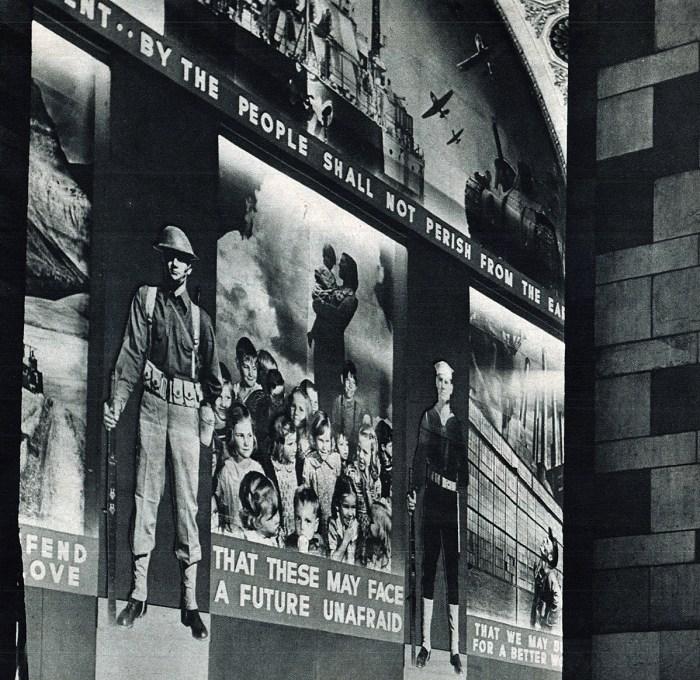 Patriotic Murals - 1941
