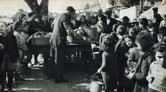 American Aid - feeding Greece