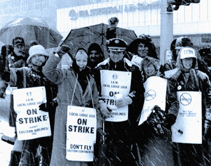 Eastern Airlines Machinists strike - March 1989