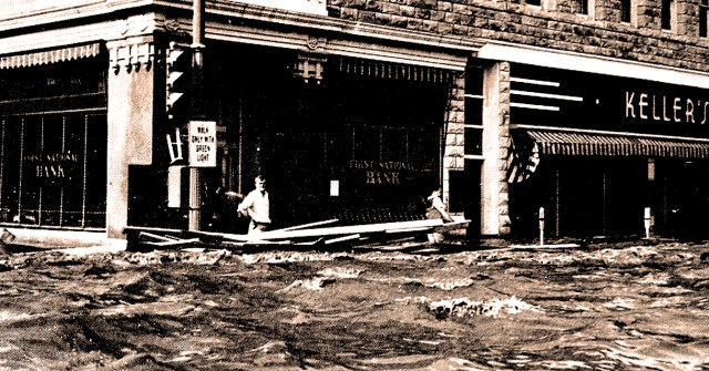 Kansas City Flood - July 1951