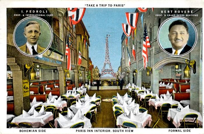 Paris Inn - 1930s Interior.
