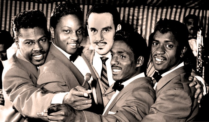 The Penguins (w/Johnny Otis) - Camel Rock n'Roll Dance Party - June 1956