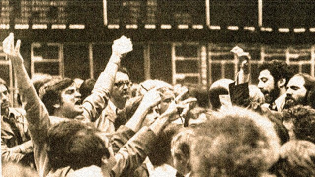 Stock Market: 1979 - what a 48 point drop was cause for panic.