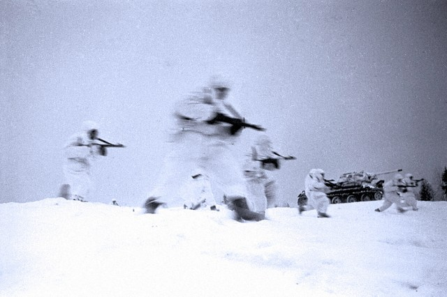 Soviet Troops counter-attack - 1942