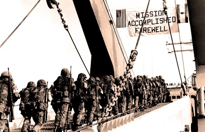 U.S. Marines Leave Beirut
