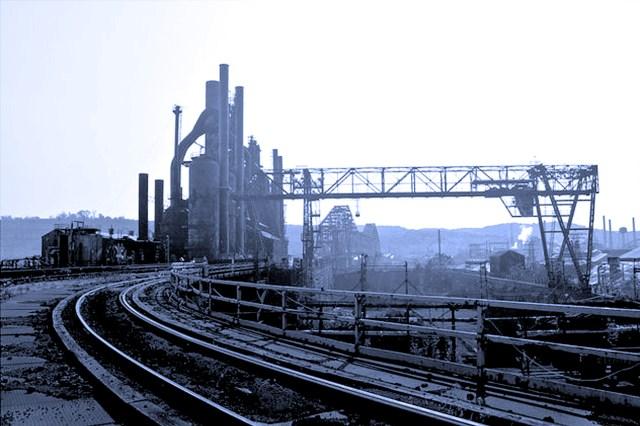 Idle Steel Plant- 1952