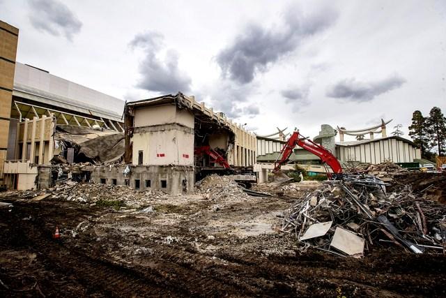 LACMA destroyed - April 2020