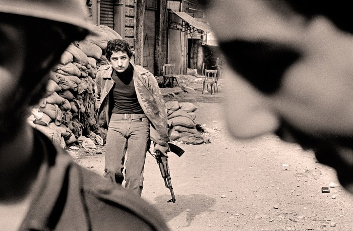 Fighting in Beirut - Magnumm Photos - 1978