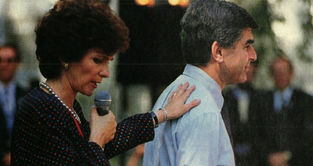 Mike and Kitty Dukakis - 1988