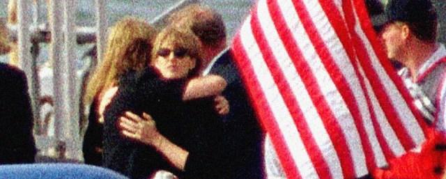 JFK Jr. Burial At Sea