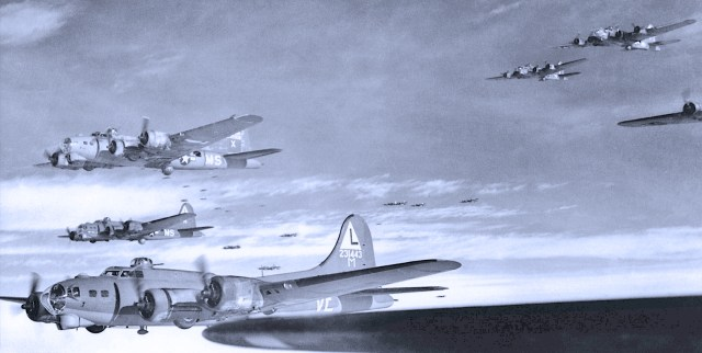 Allied Air Attacks Over Germany - October 15, 1944