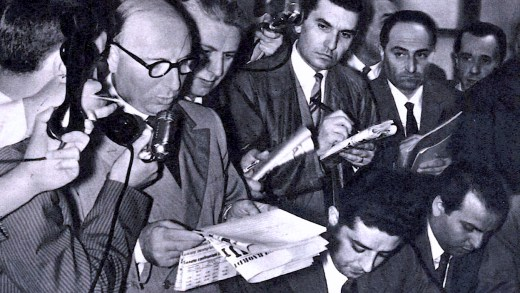 The Role Of The Press In The World Of 1950 – Past Daily Reference Room