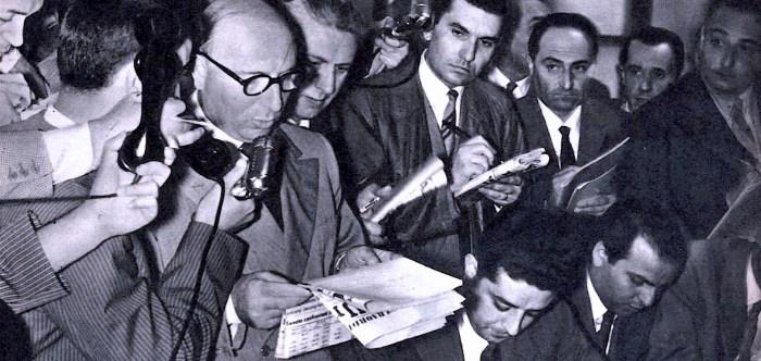 European Press Conference - 1950s