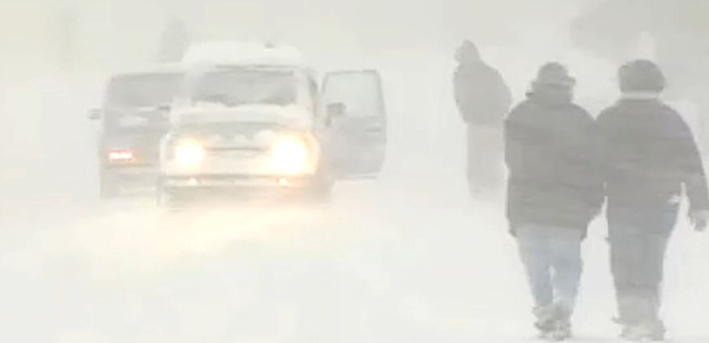 Snowstorm - January 25, 2000