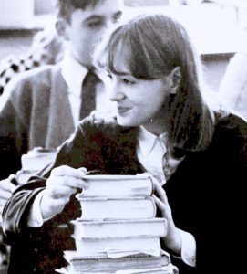 Being studious in 1968